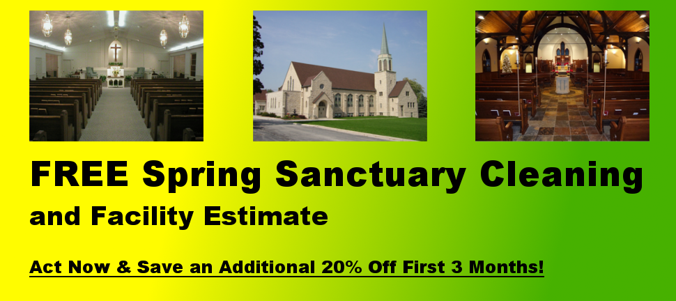 May 2013 Free Sanctuary Cleaning Slide