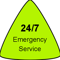 24-7 Emergency Service Icon